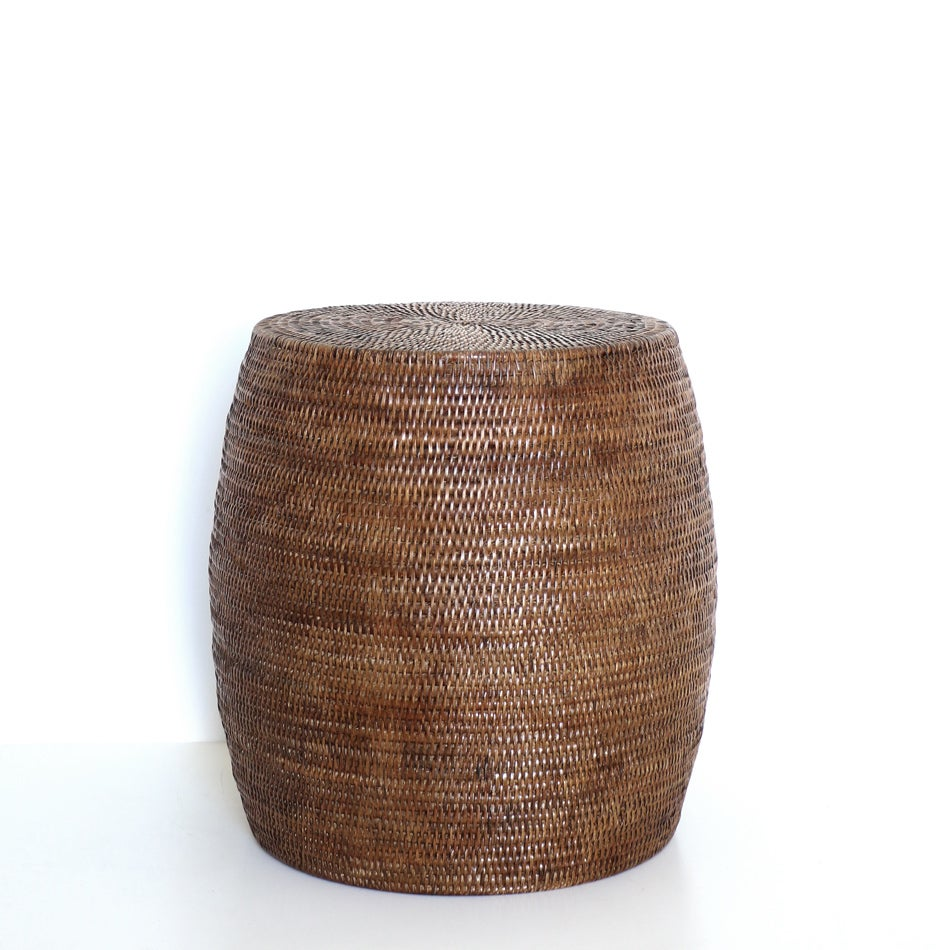 Image of Coco Wicker Drum Table