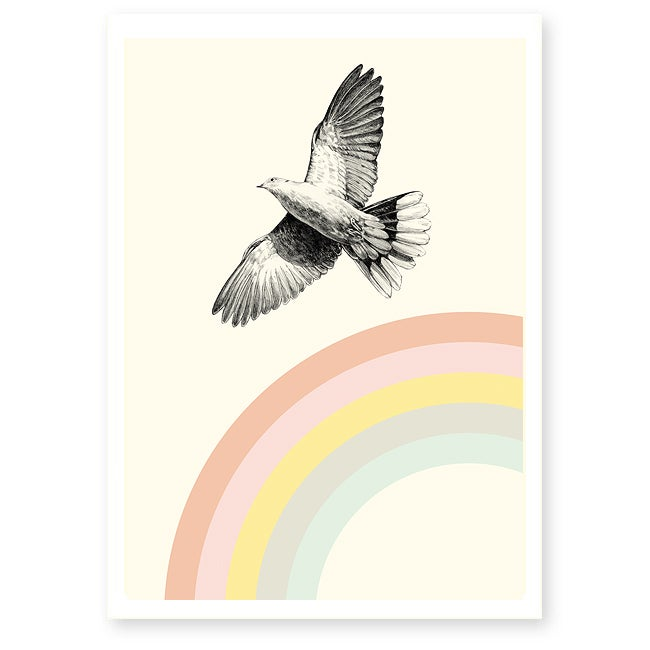 Image of Affiche A4 Rainbow