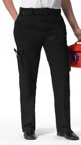 Image of 2 Pairs of Black Women's EMT Pants (Free Canvas Belt)