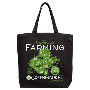 Image of Greenmarket Starter Kit - One canvas tote and four reusable produce bags