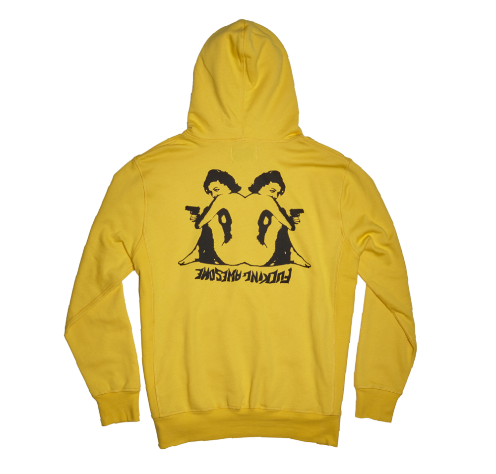 Image of FUCKING AWESOME HEARTS HOODIE