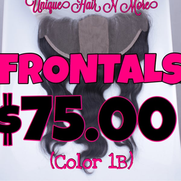 Image of $75 Lace Frontal 8A- Color 1B