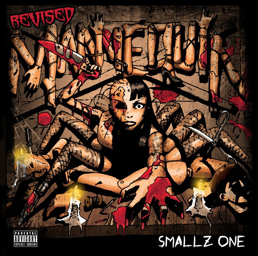 Image of Smallz One- Mannequin Revised CD
