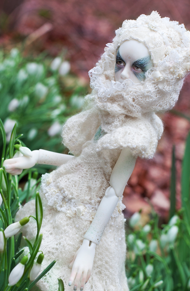 Poppedijn: Winter's Death - €985 - FreakStyleBJD - Dutch Sculptor
