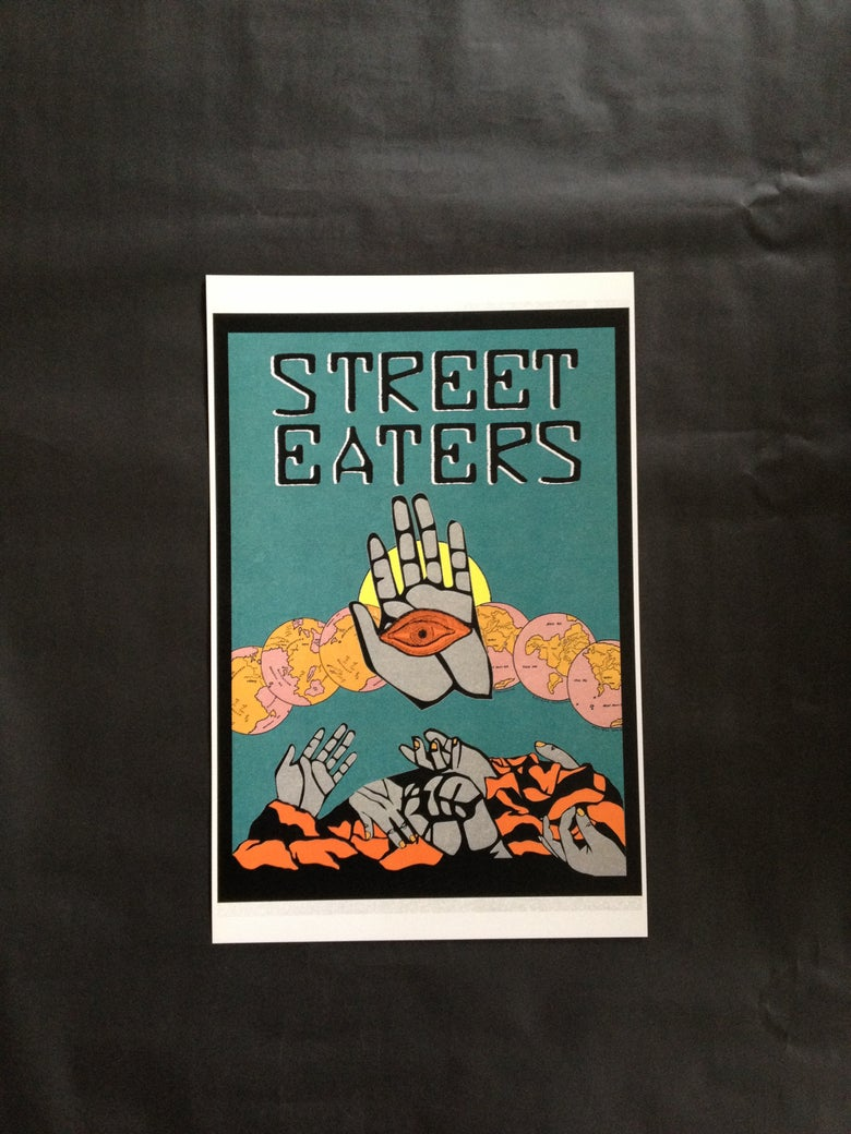 Image of STREET EATERS - Poster