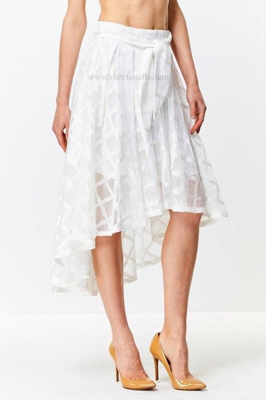 Image of Divine Hi-Lo Skirt