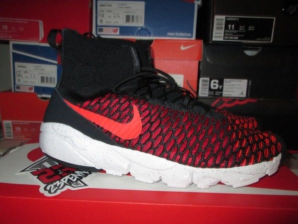 "Air Footscape Flyknit Magista ""Bright Crimson/Blk"" - FAMPRICE.COM by 23PENNY"
