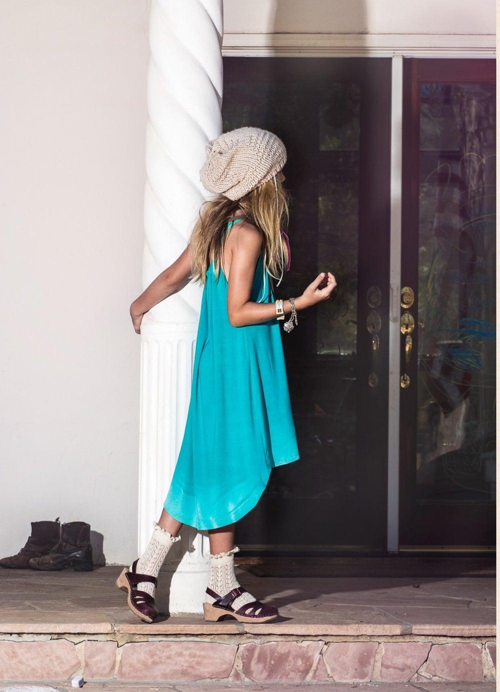 Image of Flowy Splatter Dress