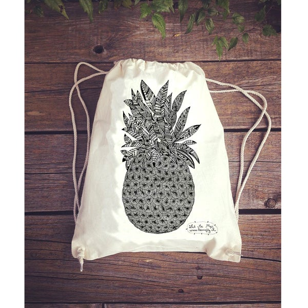 Image of Gym bag *pineapple*