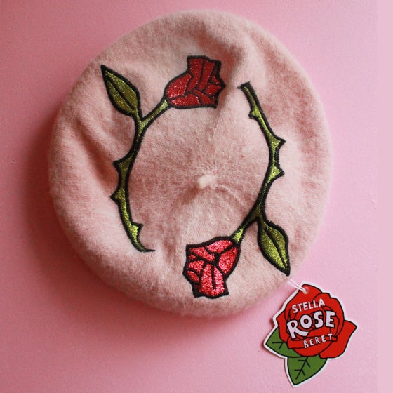 Image of The Rose Beret (Dusty Peach)