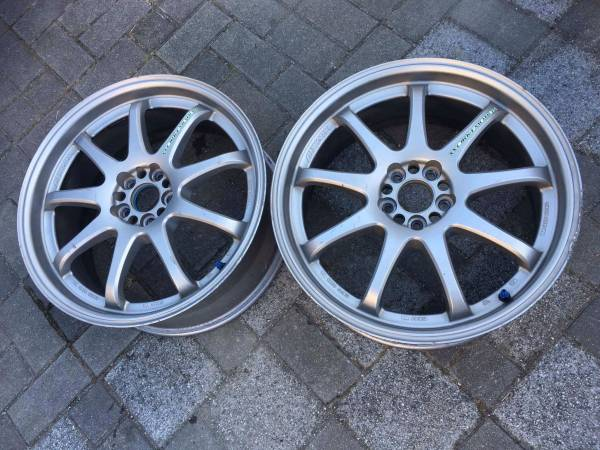 Image of *JUNE SPECIAL* Work Emotion XD9 Pair 18x7.5 +53 5x100