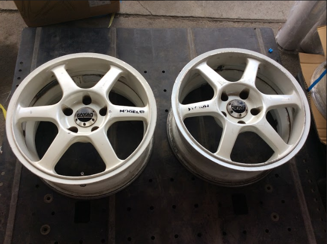 Image of Avs Model 6 Pair 16x7 +30 5x114.3