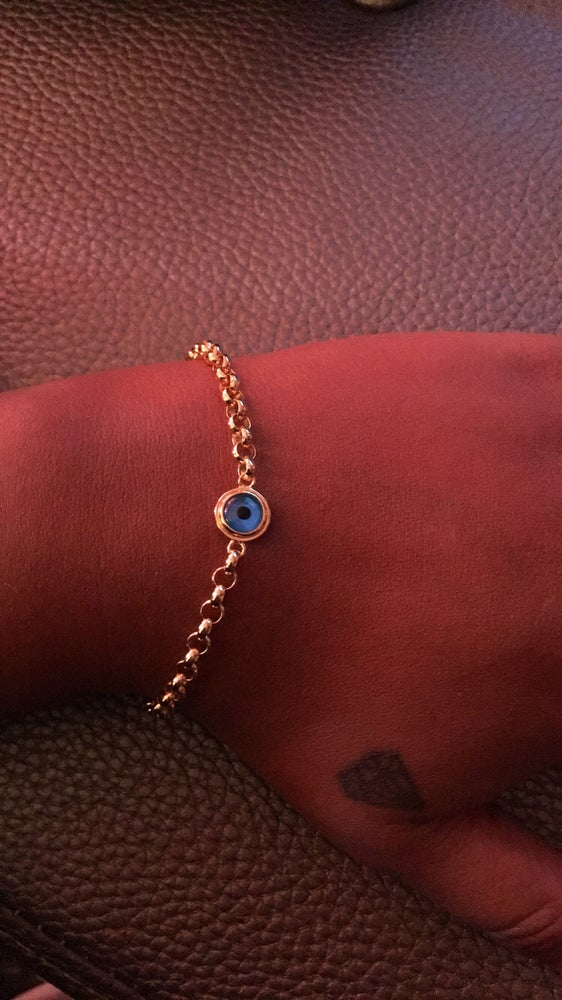 Image of Bonded evil eye bracelet