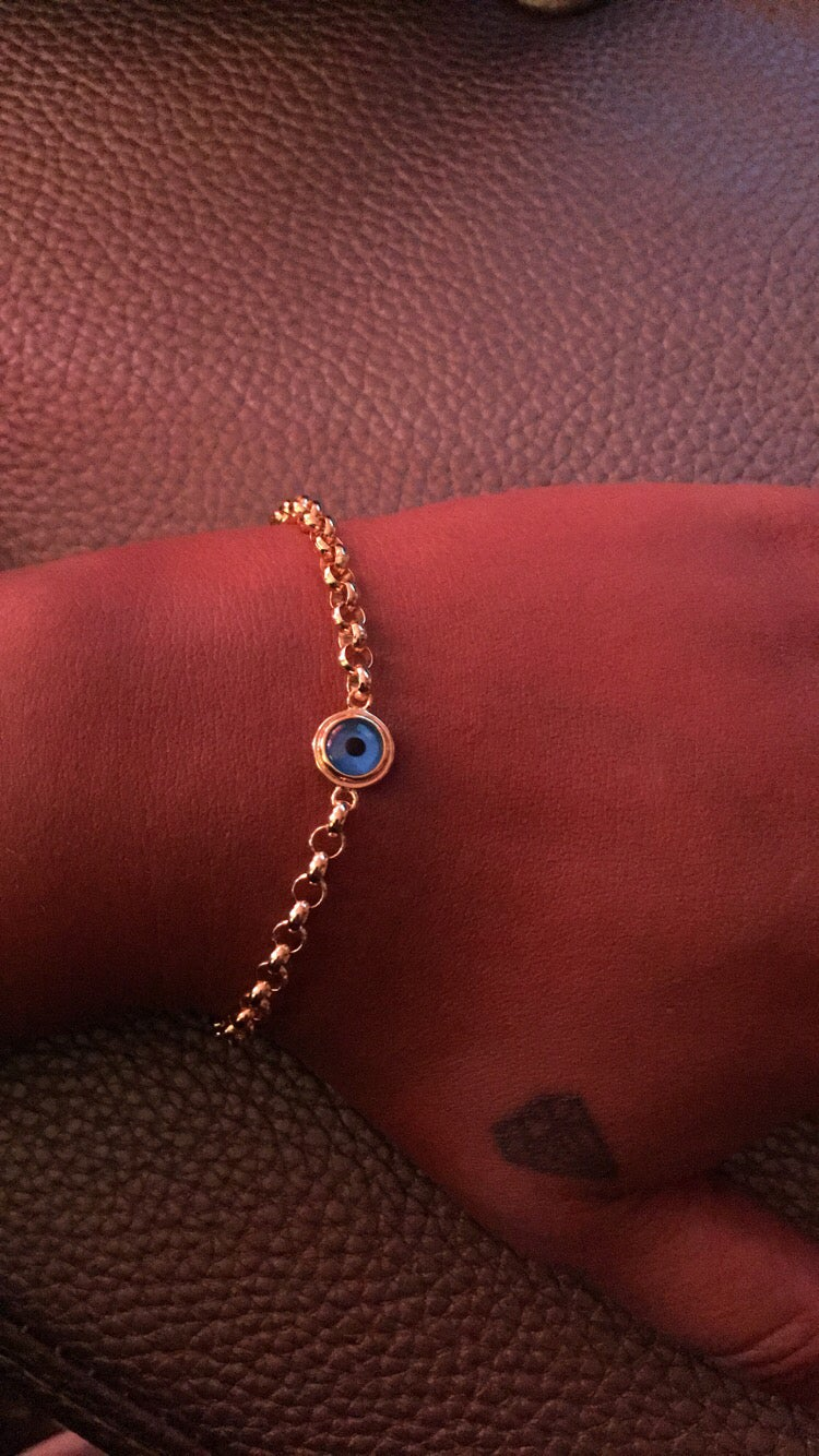 Image of Bonded evil eye bracelet