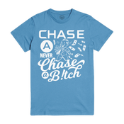 Image of Chase a Check Columbia tshirt - White Print 2