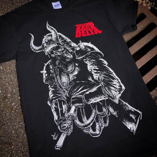 Image of Welcome Back Delta- Samurai Tshirt