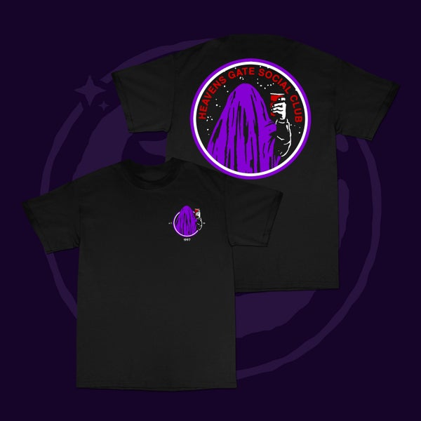 Image of HSGC Members Only T-Shirt (Black)