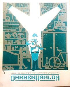 Image of Darren Hanlon Tour Screen Print
