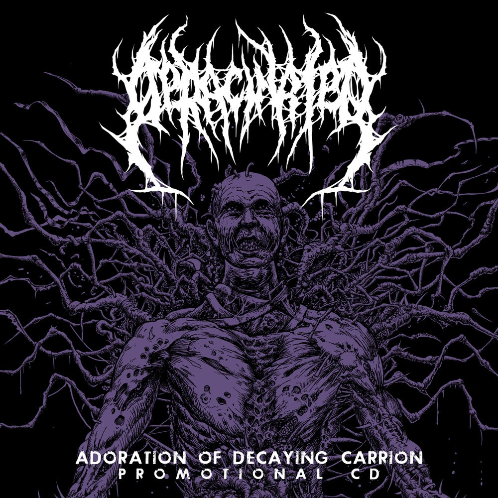 Image of Deracinated - Adoration Of Decaying Carrion - Promo