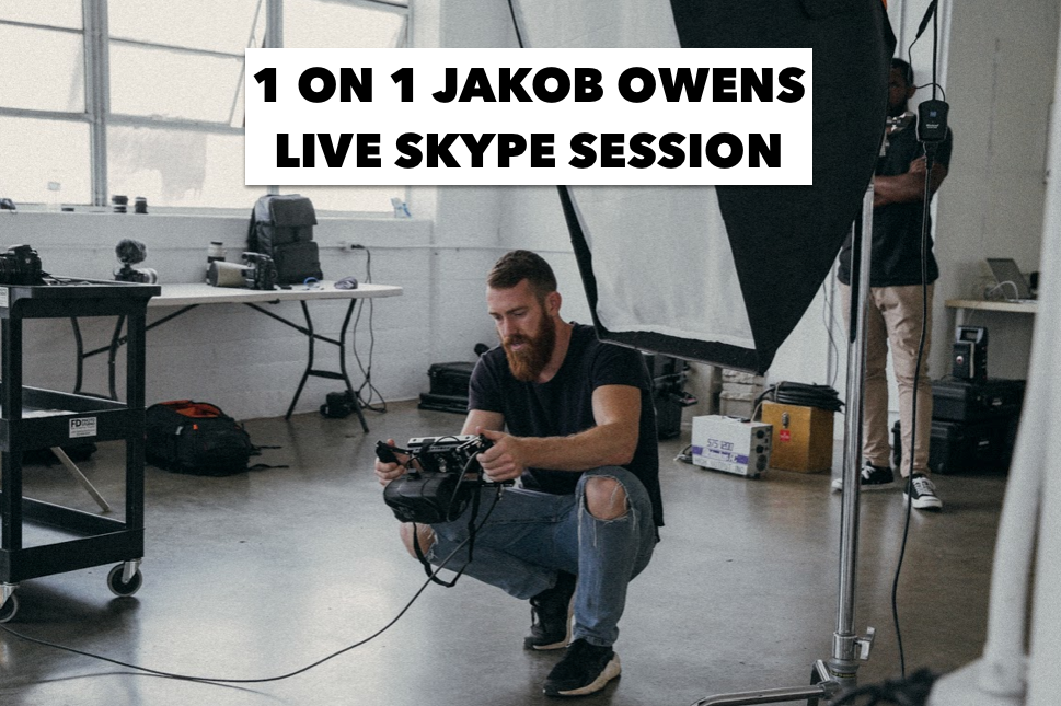 Image of 1 ON 1 LIVE JAKOB OWENS SKYPE SESSION
