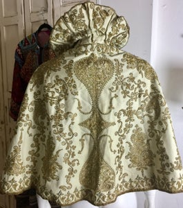 Image of 1800s fine wool gold embroidery cape