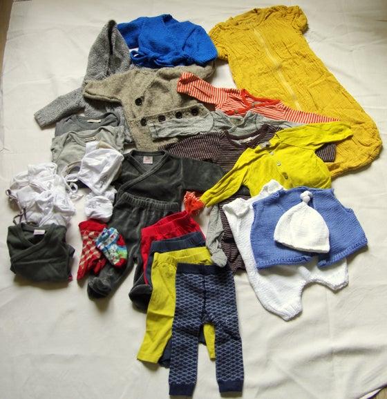 Image of Lot vêtements bébé mixte naissance/1 mois