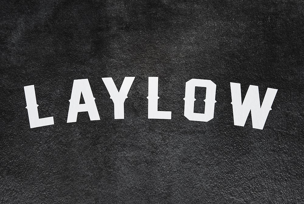 Image of LayLow Vinyl Decal White