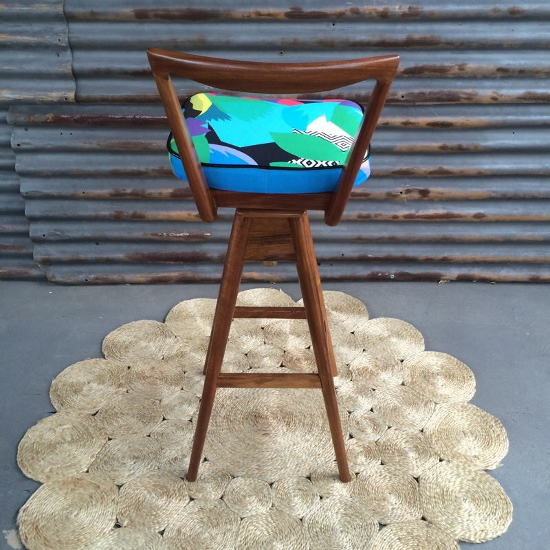 Image of Tropicalia TH Brown stools ~pair~