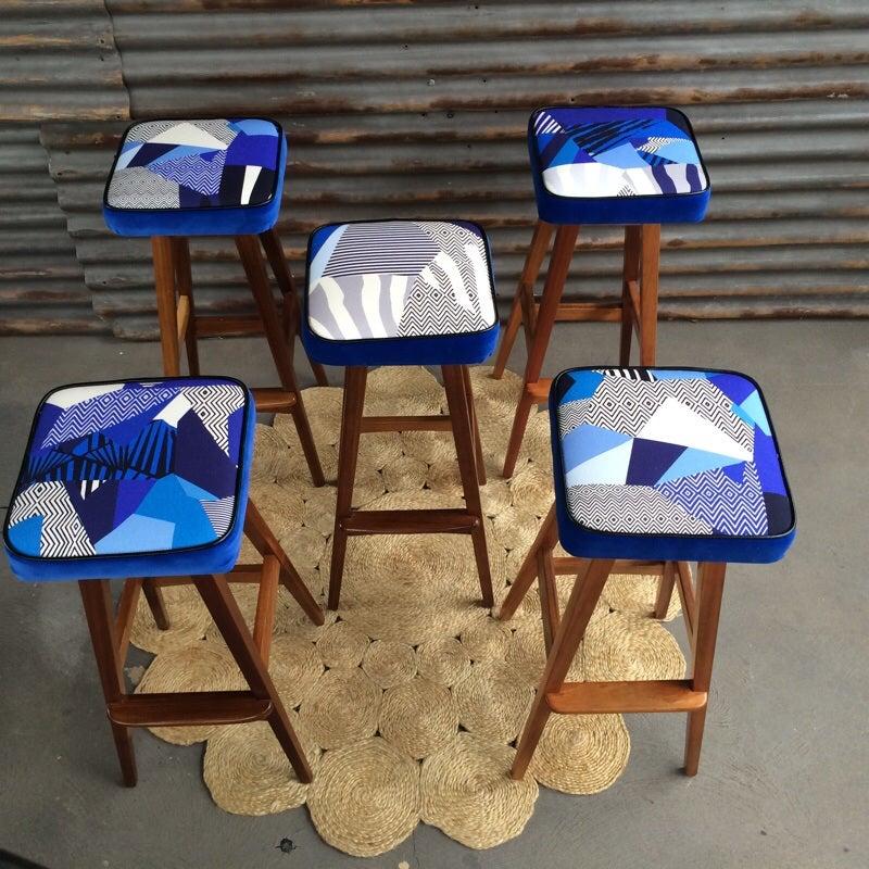 Image of Macrob Stools Set of 5 stools