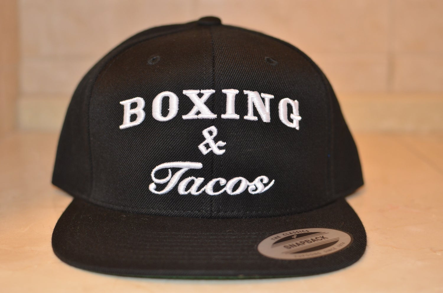 Image of Camo In Boxing we Trust SnapBacks