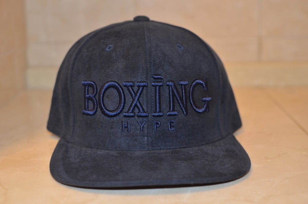 Image of NAVY suede Collection Snapbacks (2 Styles)
