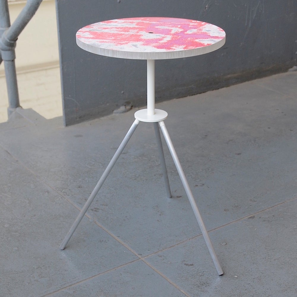Image of tripod side table #0052