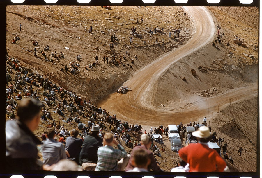 Image of Pike's Peak Hill Climb;1957