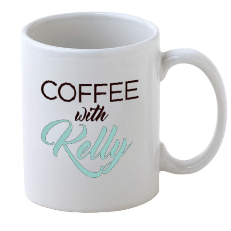 Image of Coffee with Kelly Coffee Mug