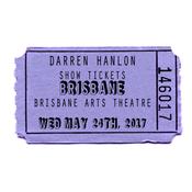 Image of Darren Hanlon - BRISBANE- WEDNESDAY 24th MAY- $26