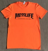 Image of MESSLIFE - THRASHER TEE - orange/yella/pink!