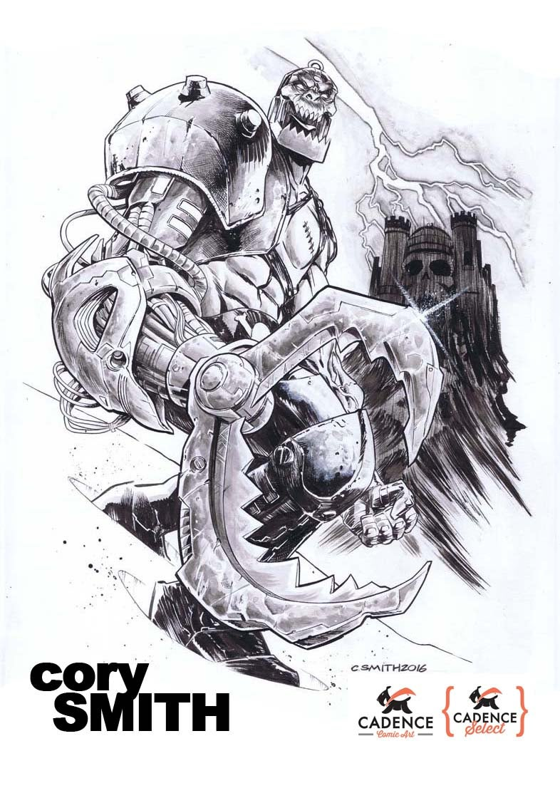 Image of Cory Smith Commission  (Mail Order)