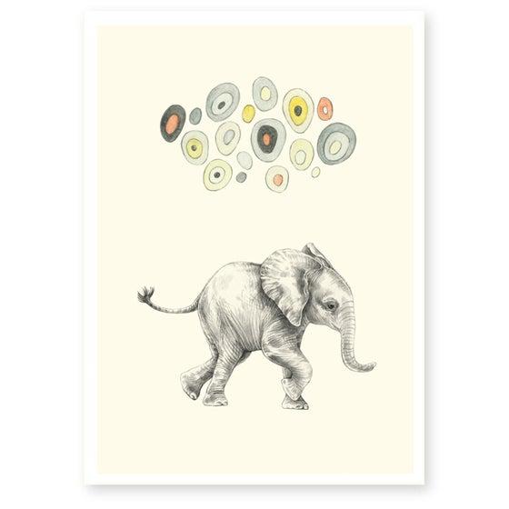 Image of Affiche A4 Elephant Boy