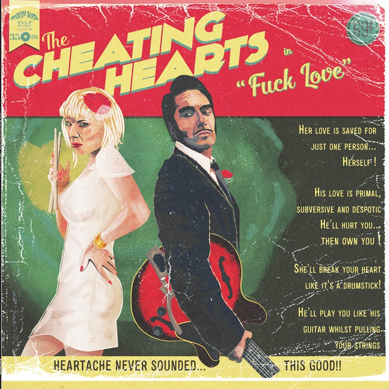 Image of The Cheating Hearts 12 Track CD