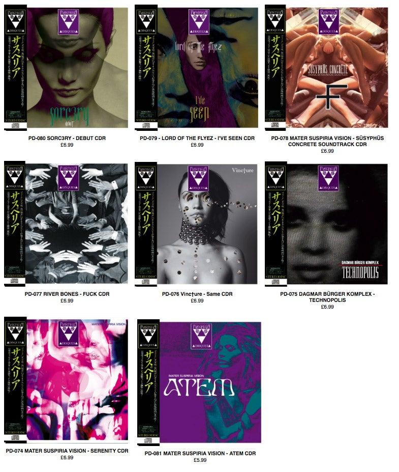 Image of [2013 Archive] Phantasma Disques CDRs