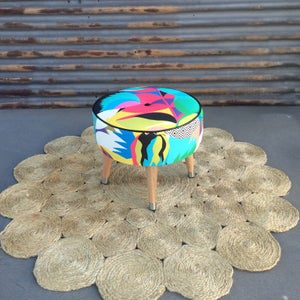Image of Tropicana side table / footstool