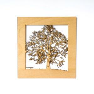 Image of Family Tree Woodcut