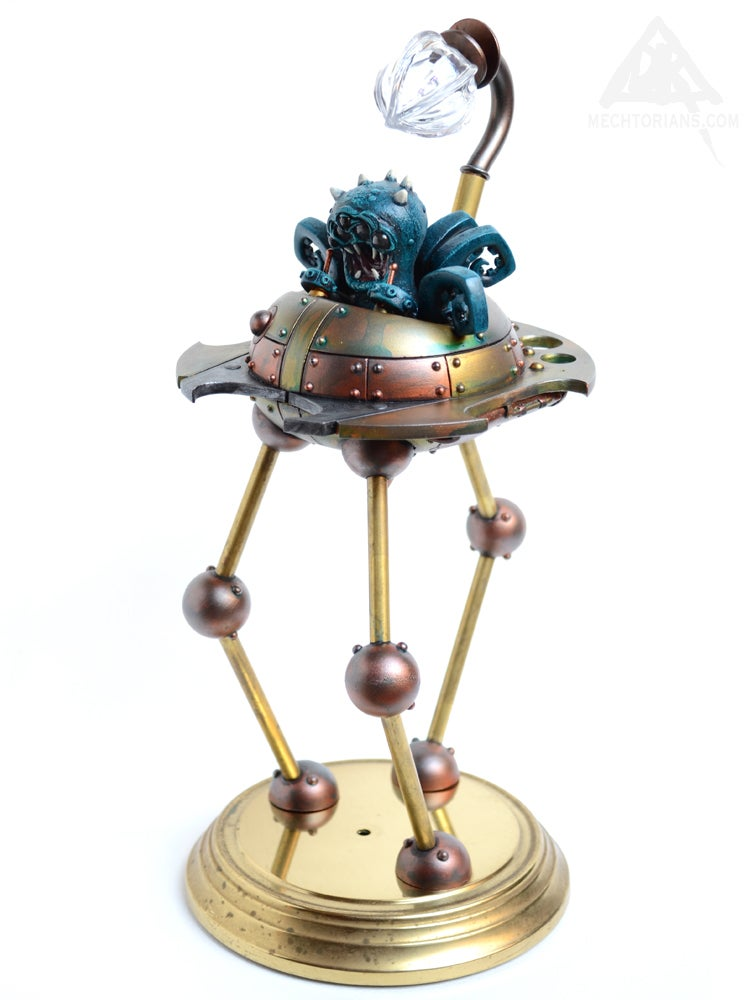 "Image of ""One Million to One"" - Customised UFO toy. (Martian Tripod)"