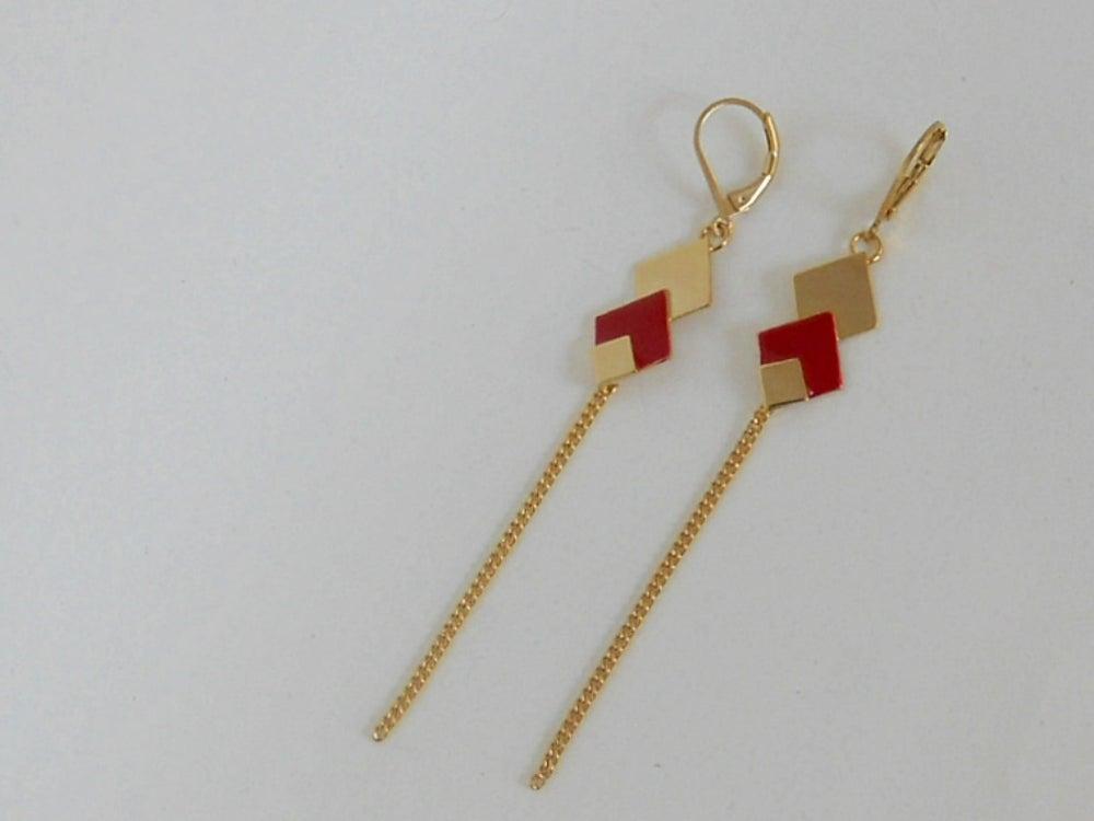 Image of TRIO (petite) - Boucles d'oreilles