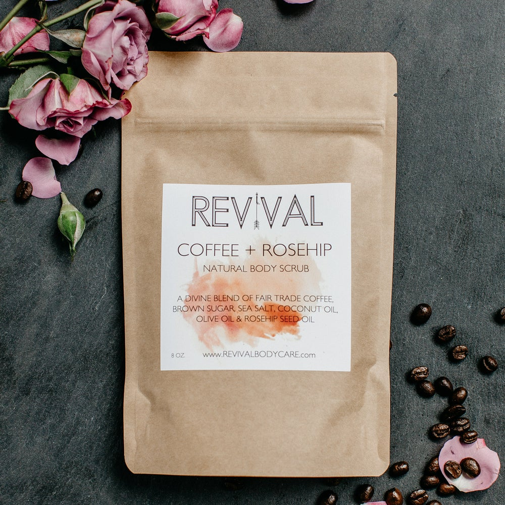 Image of COFFEE + ROSEHIP BODY SCRUB