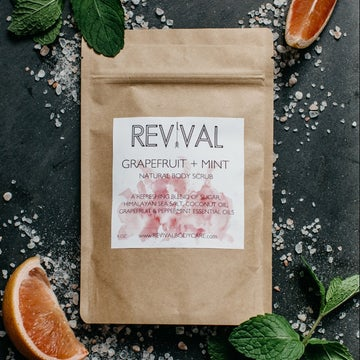 Image of GRAPEFRUIT + MINT BODY SCRUB