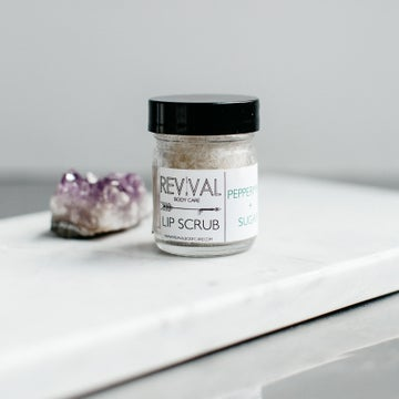 Image of PEPPERMINT + SUGAR LIP SCRUB