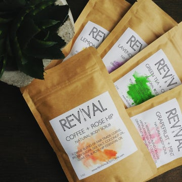 Image of REVIVAL BODY SCRUB SAMPLER SET