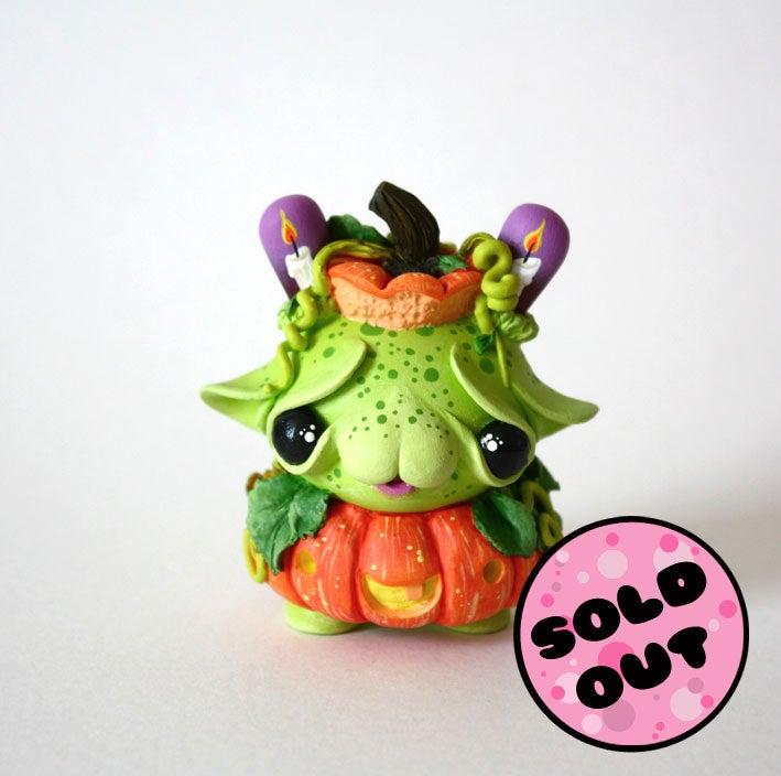 """Image of Halloween Special - PUMPIE - 3"""" Custom Kidrobot Dunny"""