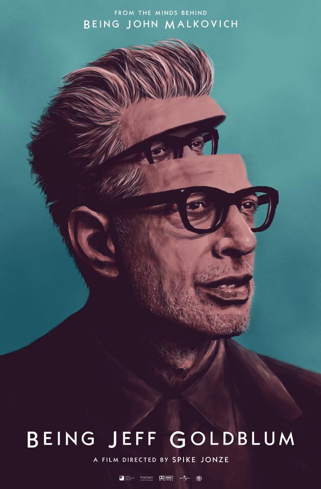 Image of Being Jeff Goldblum Poster